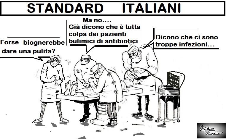 STANDARD ITALLIANI 18.05.19 OSPEDALE, INFEZIONI & FILOSOFIA SULL'ANTIBIOTICORESISTENZA