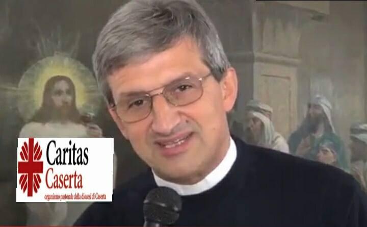 don Antonello  CARITAS CASERTA, LUNEDì 27 LA PRESENTAZIONE DI CON TATTO: IL PROGETTO A SOSTEGNO DELLA FAMIGLIA