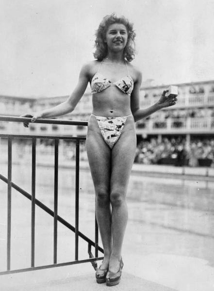 il primo bikini IL COSTUME DA BAGNO...E LEMANCIPAZIONE FEMMINILE