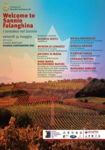 %name WELCOME TO SANNIO FALANGHINA, INCONTRO IL 31 MAGGIO AL CASTELLO DI GUARDIA SANFRAMONDI