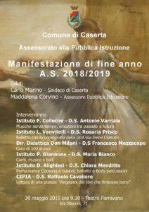 locandina evento 3 212x300 TEATRO PARRAVANO OSPITA EVENTO DI FINE ANNO SCOLASTICO