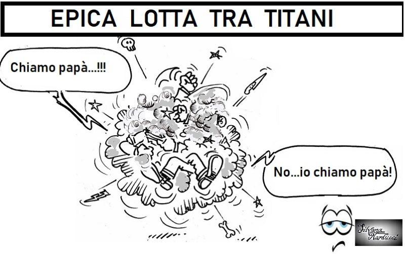 lotta titani 23.05.19 UNO SCHIAFFO BEN CONFEZIONATO… NON SI NEGA A NESSUNO!