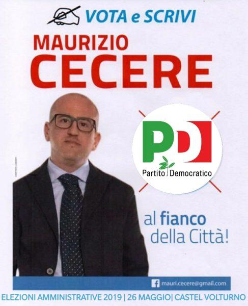 %name COMUNALI CASTELVOLTURNO:  MAURIZIO CECERE SI PRESENTA AGLI ELETTORI