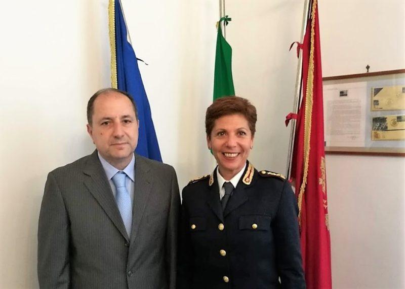 Foto SCUOLA DI POLIZIA DI CASERTA, ALESSANDRA CORVINO È IL NUOVO DIRETTORE