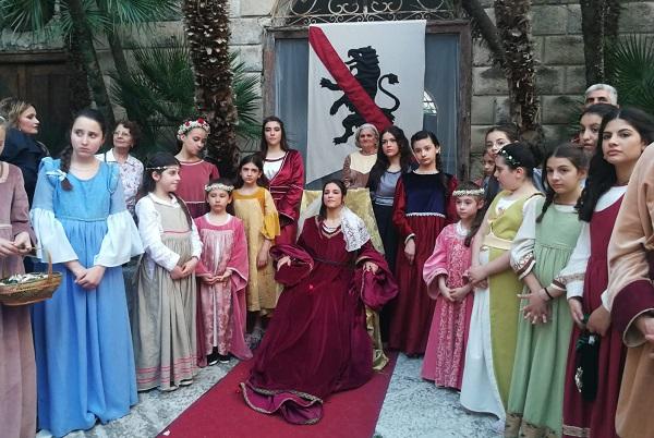 Giovannella Stendardo SUCCESSO PER LA RIEVOCAZIONE DEL MATRIMONIO DI GIOVANNELLA...E GIÀ SI PENSA ALLA III EDIZIONE