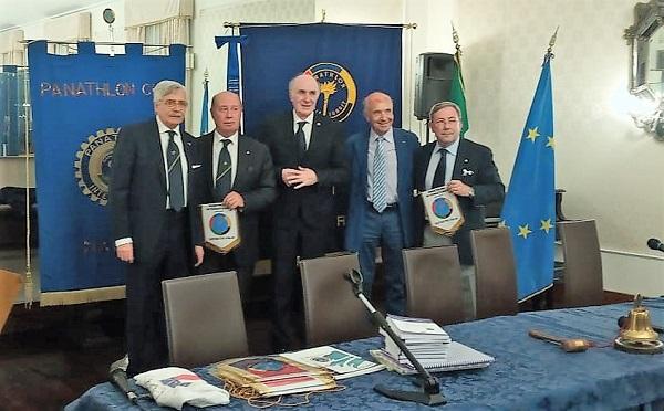 IMG 20190609 WA0001 PANATHLON CASERTA: GEMELLAGGIO CON I CLUB DI NAPOLI E FIRENZE