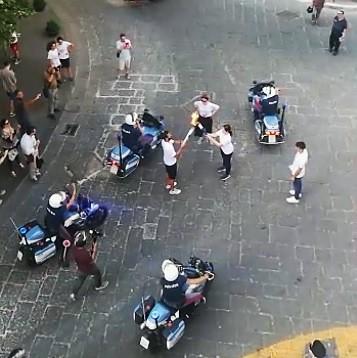 Immagine 7 LA FIAMMA OLIMPICA A CASERTA