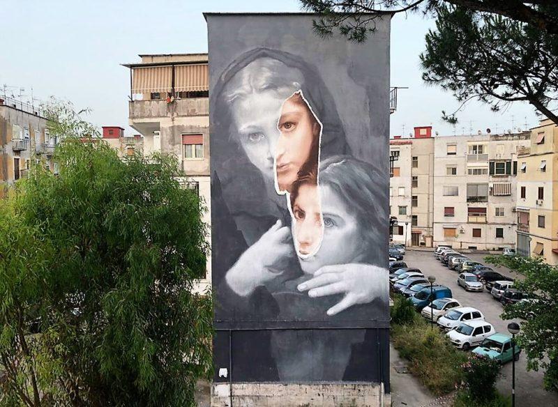 %name NAPOLI, STREET ART: INAUGURATO IL RIONE DEI MURALES