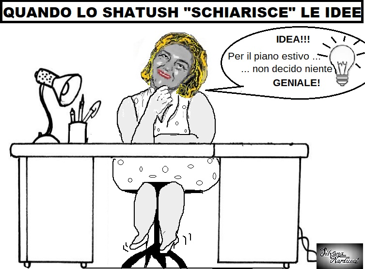 SHATUSH 29.06.19 OSPEDALE, A DOMANDA RISPONDI: COSA FA DI BELLO LA DIRETTRICE SANITARIA?