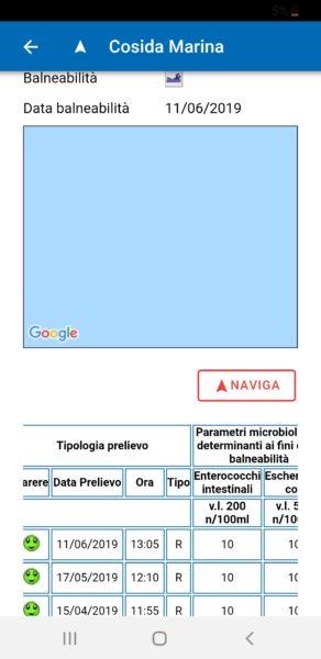 Screenshot 20190613 173917 ARPAC Balneazione SINDACO COMPASSO, LITORALE SANO:  SALUTE E BALNEABILITÀ AL CENTRO DELLAZIONE AMMINISTRATIVA