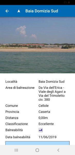 Screenshot 20190613 174050 ARPAC Balneazione SINDACO COMPASSO, LITORALE SANO:  SALUTE E BALNEABILITÀ AL CENTRO DELLAZIONE AMMINISTRATIVA