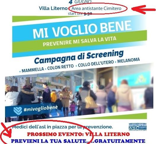 campagna screening 2 ASL, L'ACCADEMIA DELLA CRUSCA…SOCCOMBE…