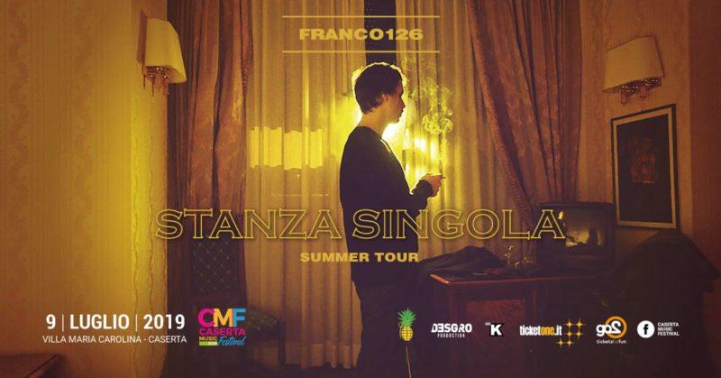 franco126 CASERTA MUSIC FESTIVAL, SI PARTE IL 9 LUGLIO