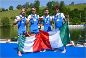 pastedImage 300x204 IL CASERTANO ALFONSO SCALZONE CAMPIONE EUROPEO DI CANOTTAGGIO