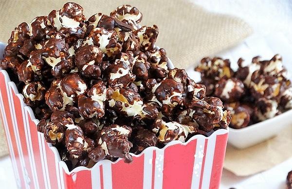 pop corn cioccolato POP CORN AL CIOCCOLATO FONDENTE