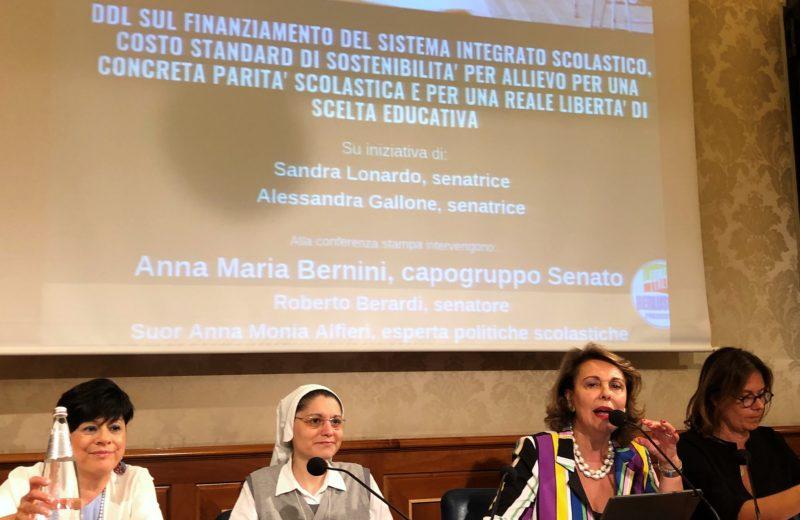 %name FINANZIAMENTO DEL SISTEMA INTEGRATO SCOLASTICO: PRESENTATO IN SENATO IL DDL  DI MODIFICA DELLA LEGGE