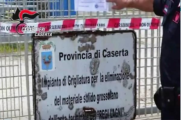 CC CASTELVOLTURNO, REGI LAGNI: SEQUESTRATO LIMPIANTO DI GRIGLIATURA
