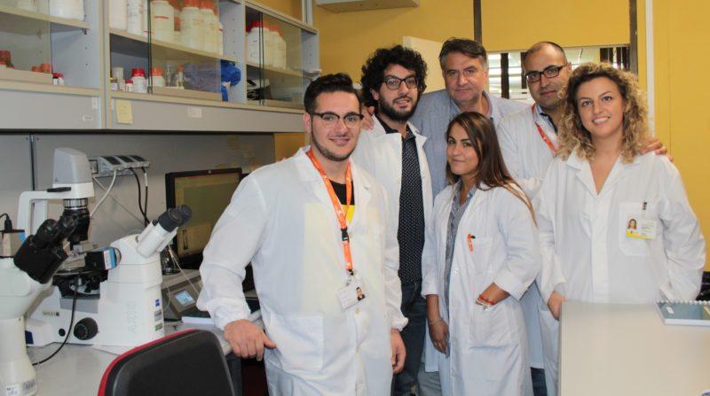 Carmine Vecchione con il team di Fisiopatologia Vascolare Neuromed NEUROMED, MALATTIE CARDIOVASCOLARI: DAL CODICE GENETICO DEI CENTENARI VERSO UNA NUOVA TERAPIA