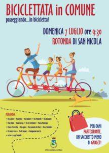 biciclettata 215x300 TORNA LA BICICLETTATA A SAN NICOLA LA STRADA IL 7 LUGLIO