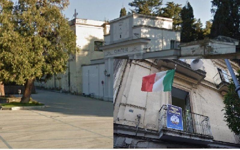 cimitero LA LEGA DI MADDALONI PROPONE UNA MAPPA CON TOPONOMASTICA DEL CIMITERO CITTADINO