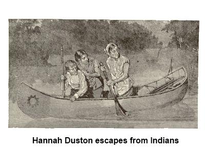 dustin escape HANNAH, LA STERMINATRICE DI INDIANI