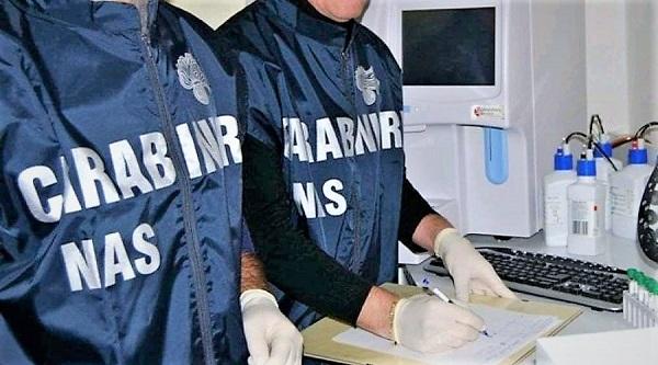 nas carabinieri SCANDALO SANITÀ, TRUFFA MILIONARIA: ARRESTATE 6 PERSONE