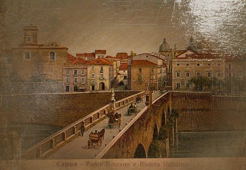 ponte romano quadro LIBERA NOS A MALO: VIAGGIO NELLANTICA CAPUA TRA PAGANESIMO E CRISTIANESIMO   prima parte