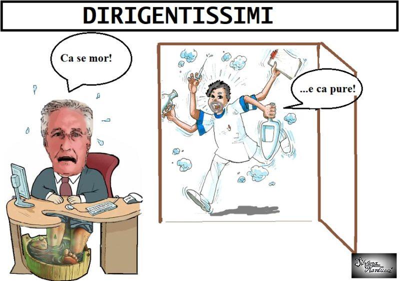 DIRIGENTISSIMI OSPEDALE A FERRAGOSTO: CARENZA PERSONALE & STRESS LAVORATIVO