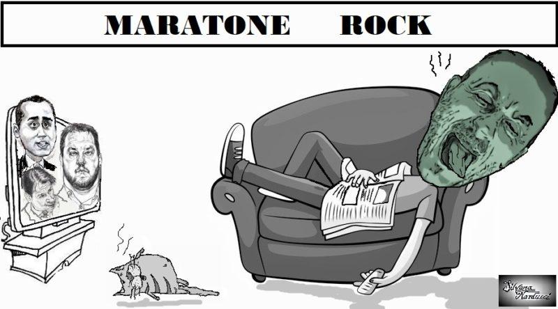 MARATONE ROCK CHE ORRORE I POLITICI IN TV E SUI SOCIAL E GLI ITALIANI CHE LI GUARDANO