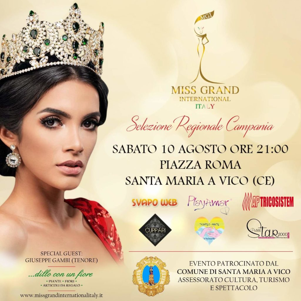 Miss Grand International Italy2 1024x1024 SANTA MARIA A VICO (CE), SABATO 10 AGOSTO LA SELEZIONE REGIONALE DI MISS GRAND INTERNATIONAL ITALY