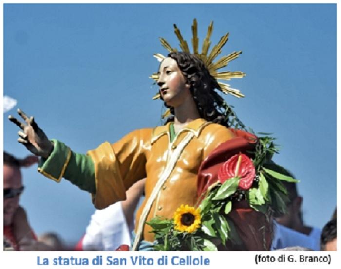 SAN VITO CELLOLE: FESTEGGIAMENTI DI SAN VITO...TRADIZIONE, MITO E RELIGIONE
