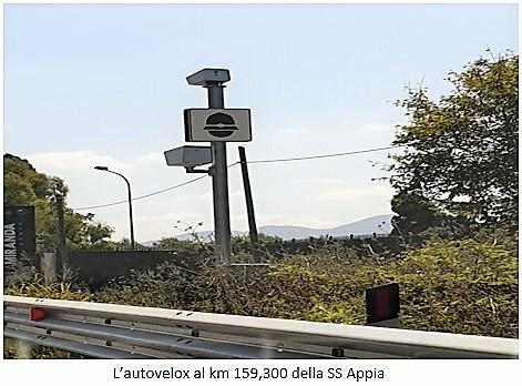 autovelox SESSA A.: I CARTELLI D'ORO DELL'AUTOVELOX AL KM 159,300
