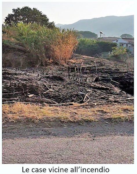 case vicine incendio SESSA AURUNCA: PERICOLOSO INCENDIO NELLA FRAZIONE PIEDIMONTE