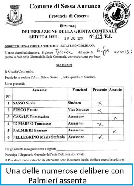 delibera SESSA AURUNCA: PERICOLOSO INCENDIO NELLA FRAZIONE PIEDIMONTE