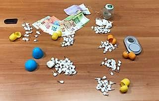 droga AVERSA,DROGA: ARRESTATO IL TITOLARE DELLA SALA GIOCHI PLAY ROOM