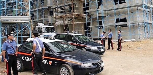 foto 2 controllo cantiere ISERNIA, DENUNCIATO AMMINISTRATORE DI UNA SOCIETÀ EDILE