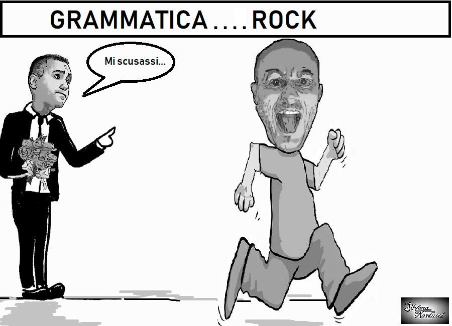 grammatica rock LUIGI DI MAIO, IL GENERO CHE NON VORREI MAIO