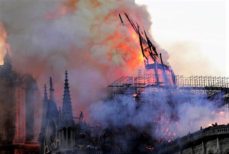 incendio NOTRE DAME, INIZIA LA RICOSTRUZIONE