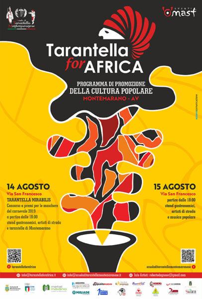 """locandina tfa 2 MONTEMARANO, """"TARANTELLA MIRABILIS"""": L'ARTE POPOLARE E LA TRADIZIONE DELLE MASCHERE"""