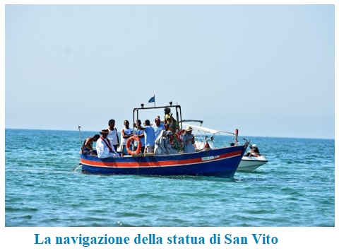 navigazione statua s.vito  CELLOLE: FESTEGGIAMENTI DI SAN VITO...TRADIZIONE, MITO E RELIGIONE