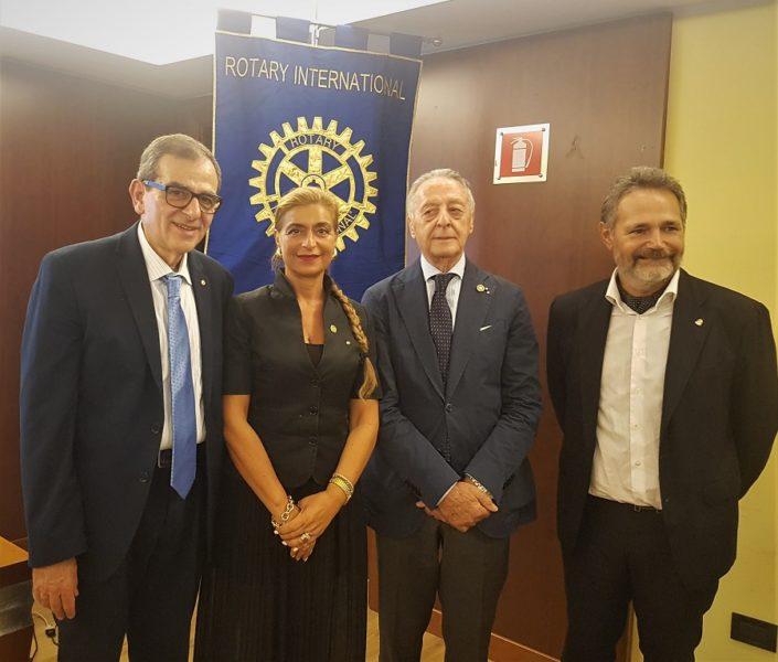 20190923 215324 1 ROTARY CLUB CASERTA LUIGI VANVITELLI: INCONTRO SULLE NUOVE GENERAZIONI CON IL PAST GOVERNOR LUCIANO LUCANIA