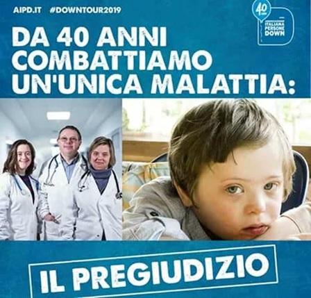 3 4 DOWNTOUR 2019: OGGI A CASERTA...PER COMBATTERE IL PREGIUDIZIO