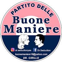 BUONE MANIERE CIRILLO (PARTITO DELLE BUONE MANIERE)...E LA LEGA