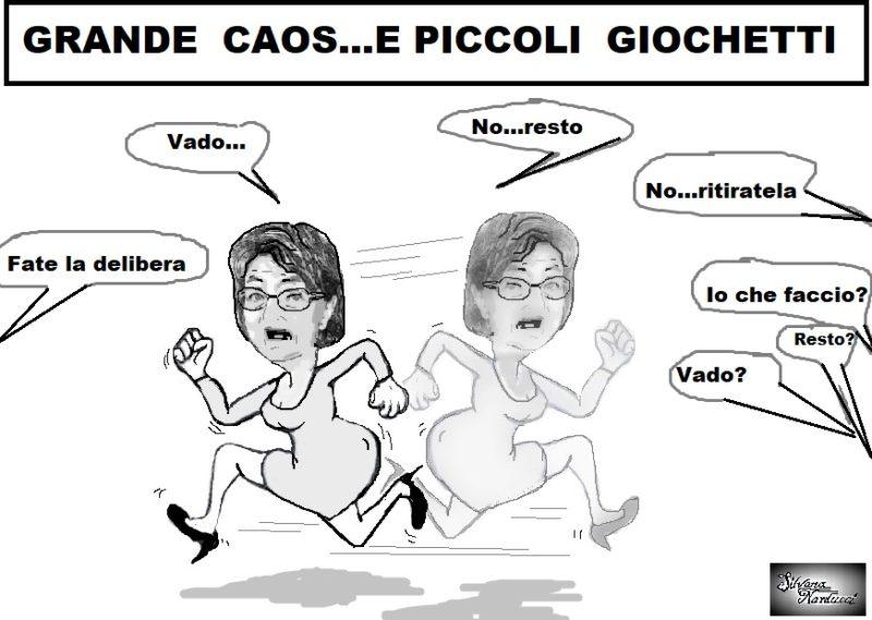 """CAOS E GIOCHETTI 12 09 19 OSPEDALE, DELIBERAZIONI """"USA E GETTA""""…"""