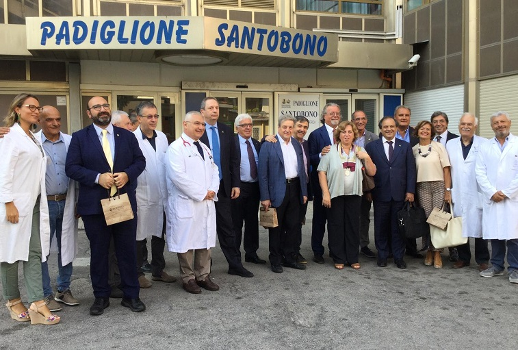 Foto gruppo con FNOMCEO OdM CASERTA: LA DICHIARAZIONE DELLA DOTTORESSA BOTTIGLIERI SULLINCONTRO CON L'ESECUTIVO FNOMCEO