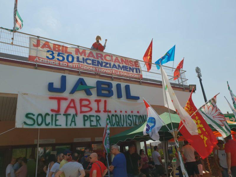 JABIL VERTENZA JABIL: AMMORTIZZATORI SOCIALI E RICOLLOCAZIONE