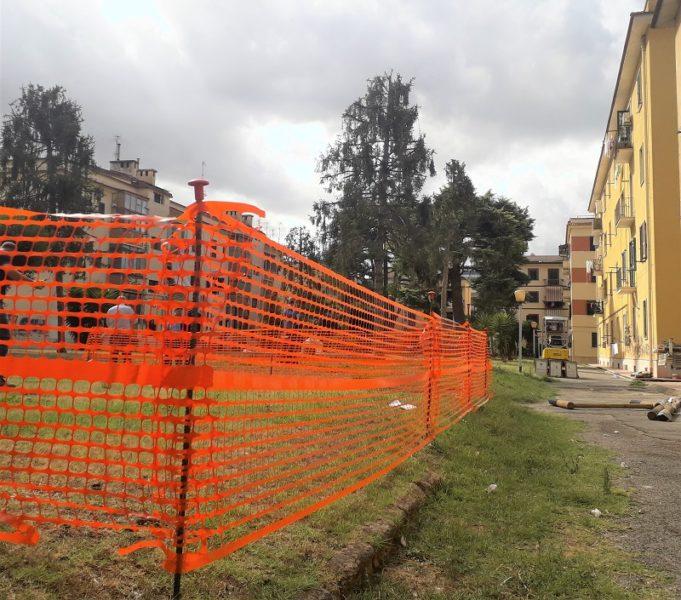 Lavori villetta via Perla via Pierantoni DECORO URBANO, VALORIZZAZIONE AREA VERDE: SONO PARTITI I LAVORI