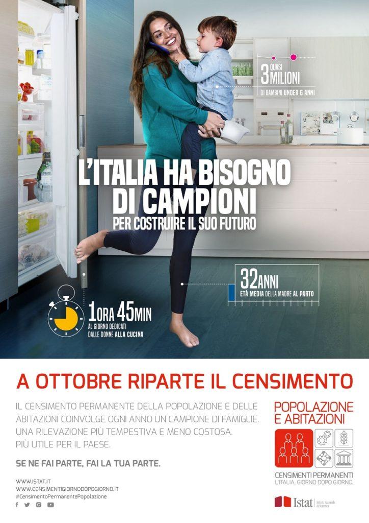 Locandina Istat ITA Web 1 page 0001 724x1024 CENSIMENTO POPOLAZIONE ED ABITAZIONI: SCELTA CASERTA PER IL 2019