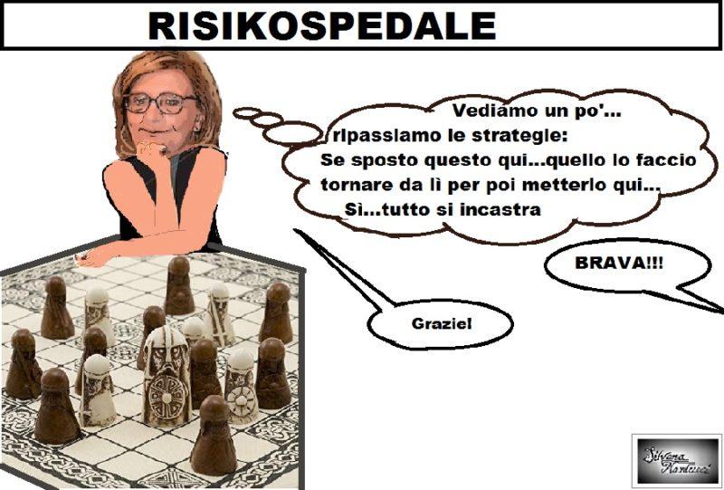 RISIKOSPEDALE 24.09.19 OSPEDALE, LA MUSICA È SEMPRE LA STESSA…