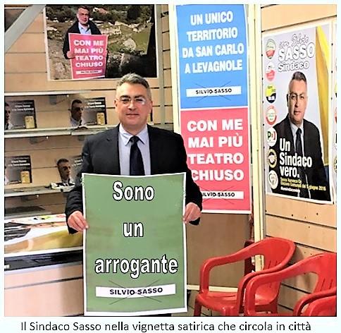 SASSO SESSA AURUNCA HA UN SINDACO COSÌ DICHIARATAMENTE ED ORGOGLIOSAMENTE ARROGANTE!